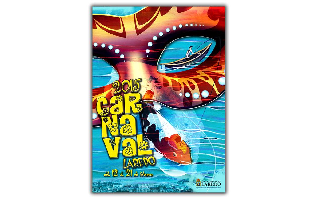 Ayuntamiento Laredo – Propuesta cartel Carnaval 2015