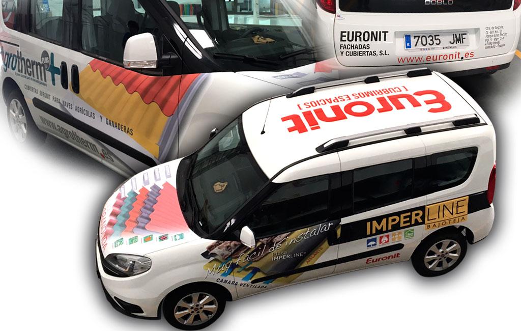 Euronit – Rotulación furgoneta