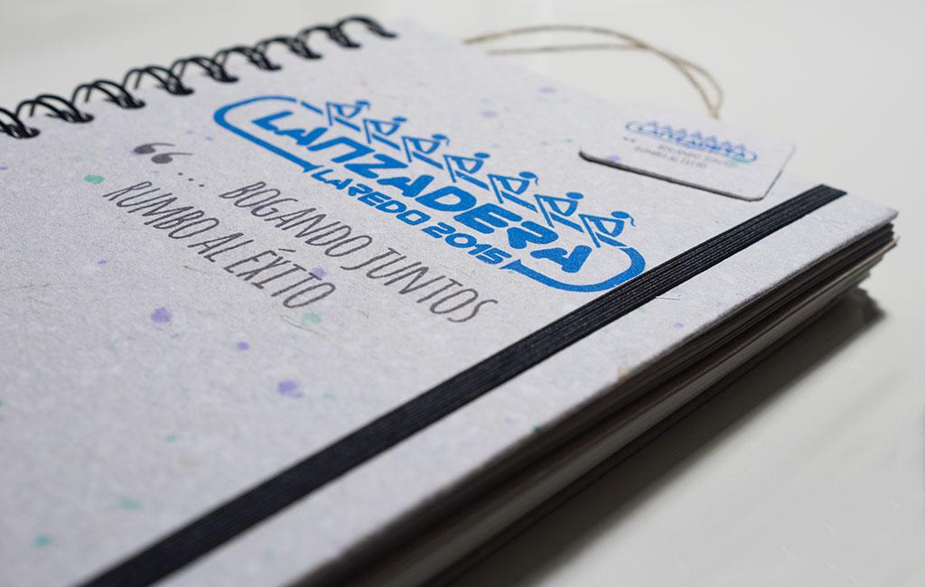 Lanzadera Laredo 2015 – Logotipo y carpetas