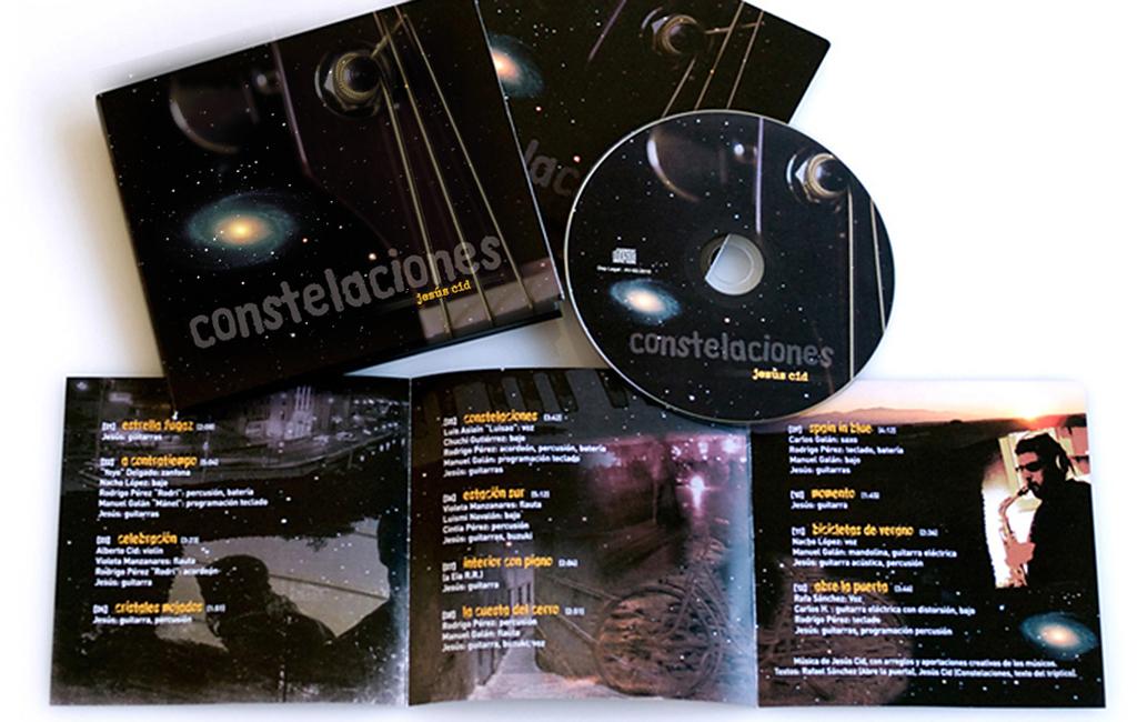 """Jesús Cid – Diseño disco """"Constelaciones"""""""