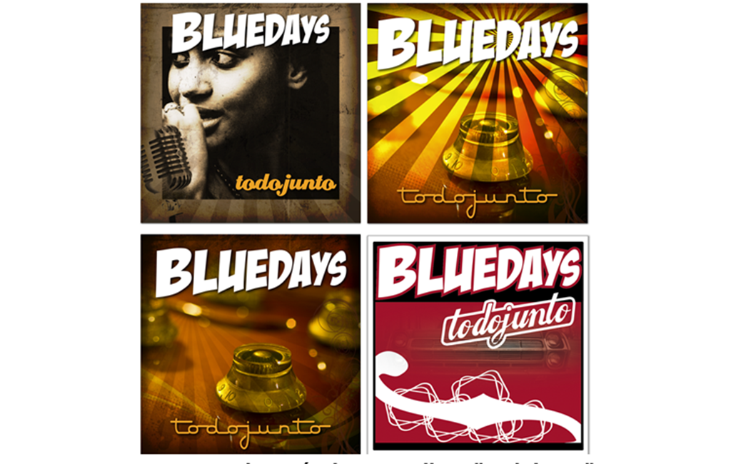 Bluedays Blues Band – Pruebas carátula