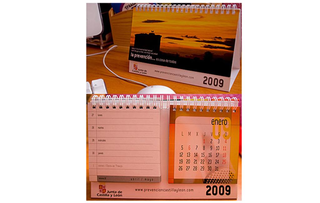 D.G. Trabajo Junta Castilla y León – Calendario P.R.L. 2009
