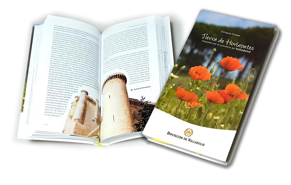 Diputación de Valladolid – Libro Tierra de Horizontes