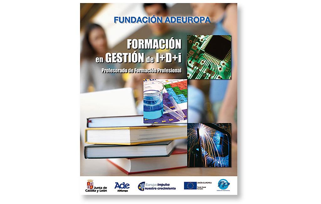 ADEuropa – Cartel Formación Profesorado I+D+i