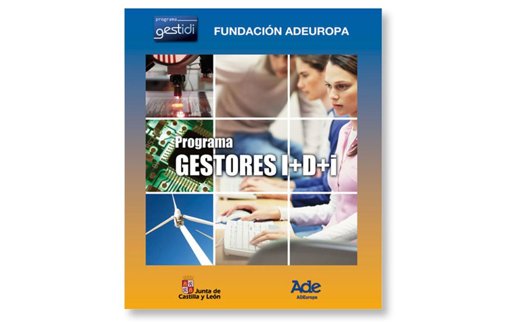 Fundación AdeEuropa – Cartel Programa Gestores I+D+i