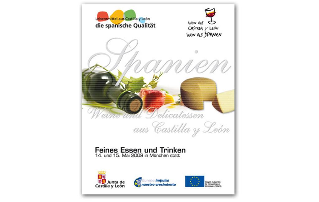 Junta de Castilla y León – Cartel para Feria Munich