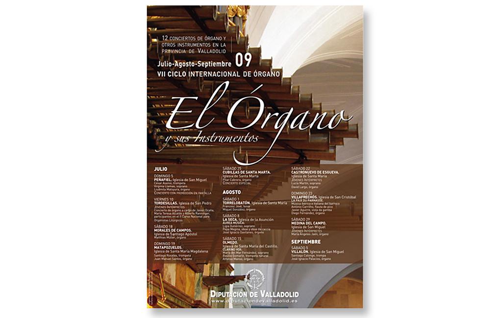 Diputación de Valladolid – Ciclo conciertos de órgano 2009
