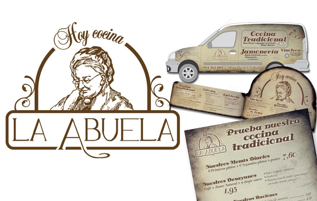 Rte. Hoy Cocina La Abuela – Diseño imagen corporativa