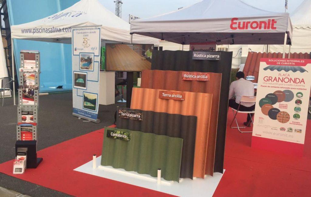 Euronit – Stands para Ferias Rehabitar y Salamaq 2017