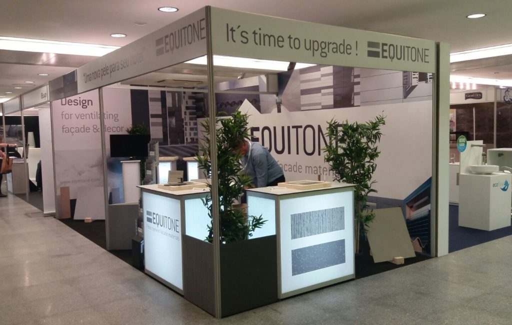 EURONIT – STAND EQUITONE para Feria DECOR HOTEL 2017 en Lisboa