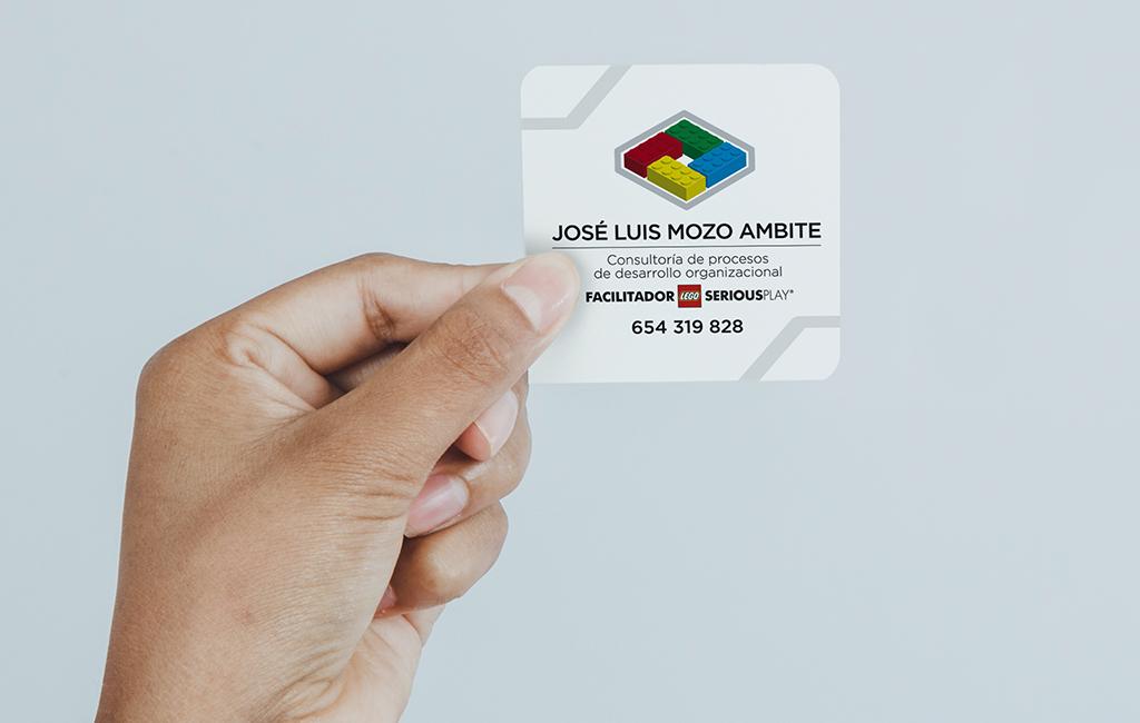 José Luis Mozo Ambite – Diseño de logotipo + tarjetas de visita