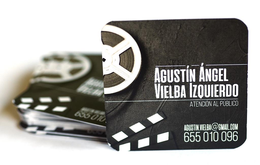 Tarjetas de Visita para Agustín Ángel Vielba